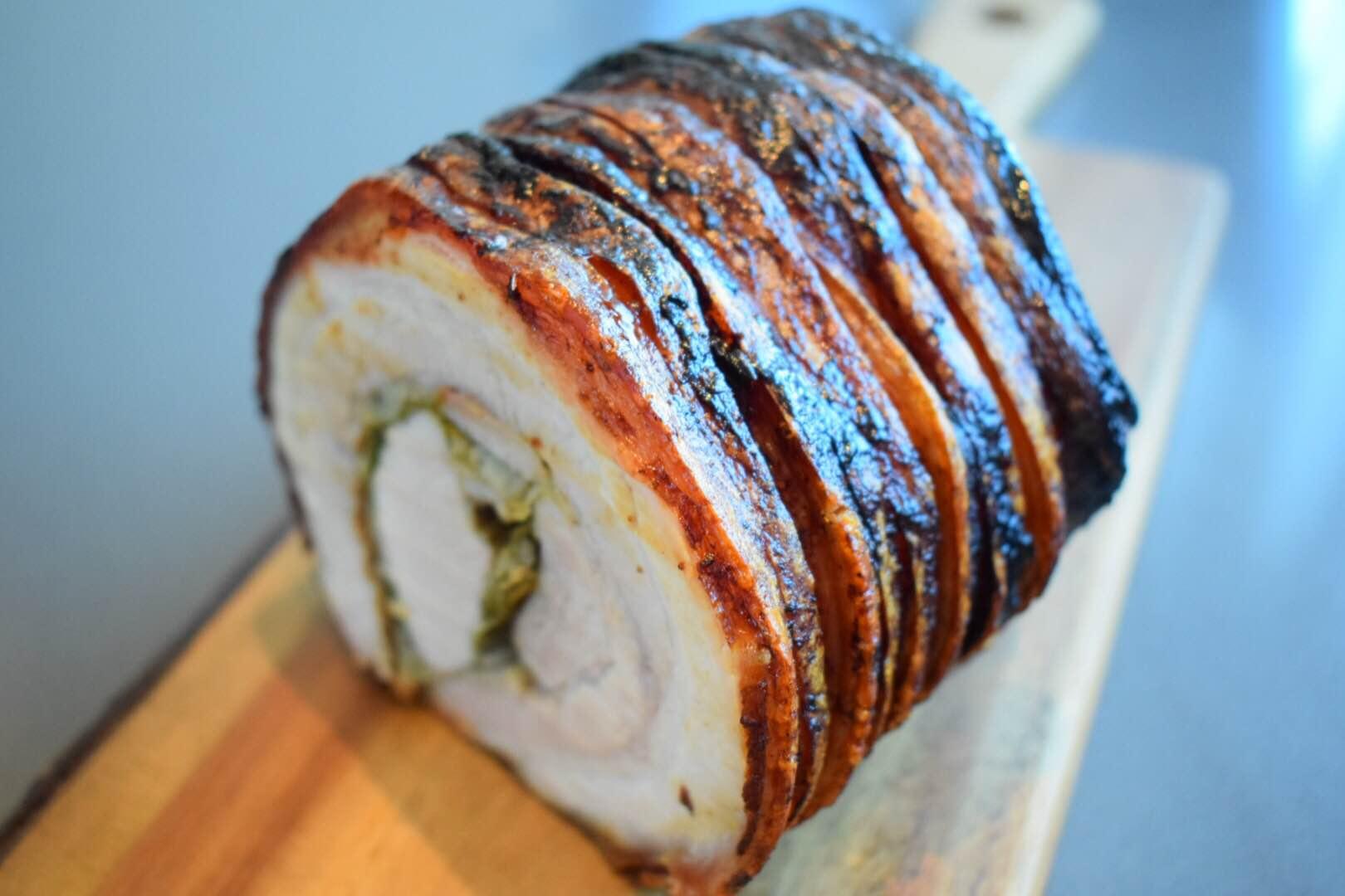 Flæskesteg på Italiensk – Porchetta !