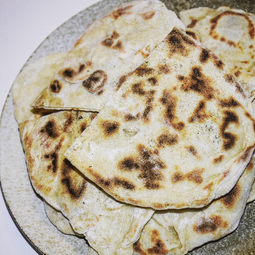 Indisk Naan Brød
