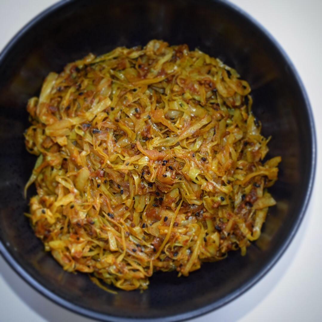 Spicy Spidskål