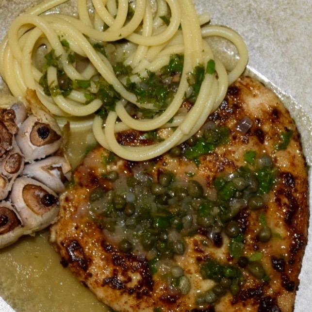 Kylling Piccata  – smag på hverdagen i Italien